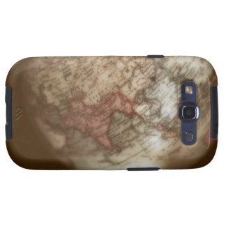 Close up of antique globe 2 galaxy s3 cases