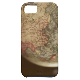 Close-up of antique globe 2 iPhone 5 cover