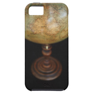 Close-up of antique globe 2 tough iPhone 5 case