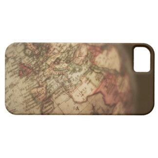 Close-up of antique globe 3 barely there iPhone 5 case