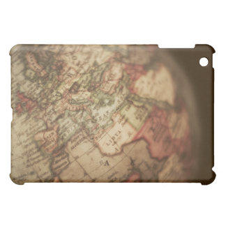 Close-up of antique globe 3 case for the iPad mini