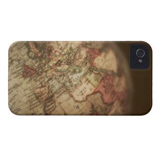 Close-up of antique globe 3 iPhone 4 Case-Mate case