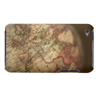 Close-up of antique globe 3 iPod touch cover