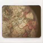 Close-up of antique globe 3 mousepads