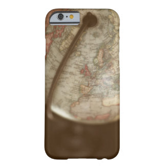 Close up of antique globe barely there iPhone 6 case