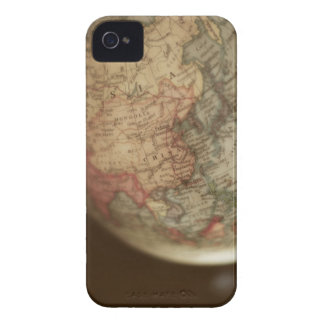Close-up of antique globe iPhone 4 case