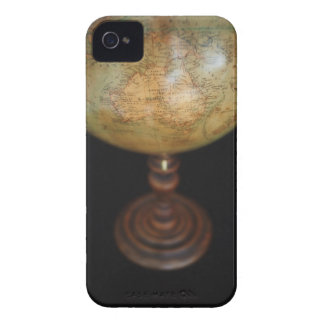 Close-up of antique globe iPhone 4 Case-Mate case