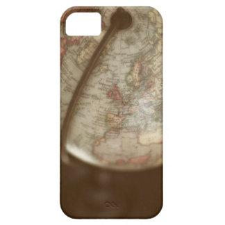 Close up of antique globe iPhone 5 case