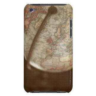 Close up of antique globe iPod Case-Mate case