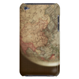 Close-up of antique globe iPod touch covers