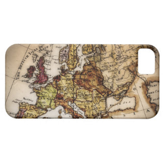 Close up of antique world map 2 barely there iPhone 5 case