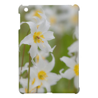 Close-up of avalanche lilies case for the iPad mini