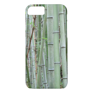 Close-up of bamboo grove iPhone 7 case