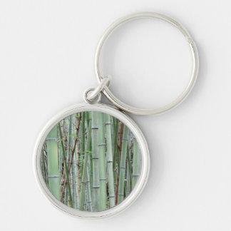 Close-up of bamboo grove key ring