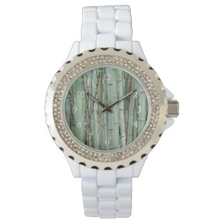 Close-up of bamboo grove watch
