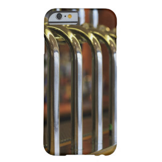 Close-up of bar taps barely there iPhone 6 case