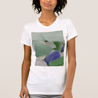Close up of beach glass, Alaska T-Shirt