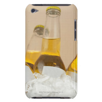 Close-up of beer bottles in ice iPod touch cover