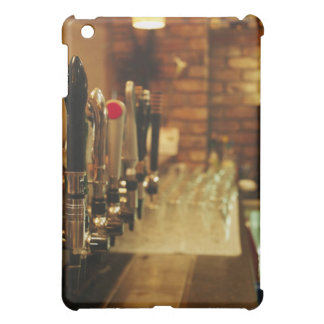Close-up of beer taps in bar 2 cover for the iPad mini