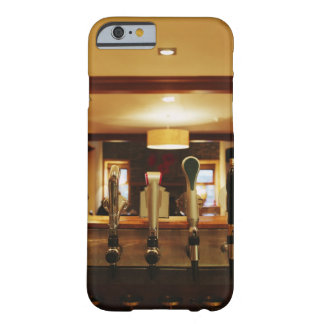 Close-up of beer taps in bar barely there iPhone 6 case