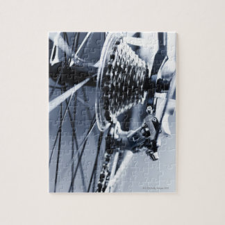Close up of bicycle gears 2 jigsaw puzzle