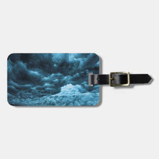 Close up of blue ice, Iceland Luggage Tag