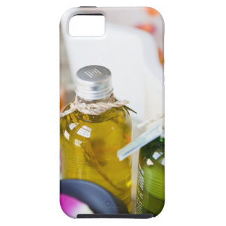 Close up of bottles with massage oils iPhone 5 cover