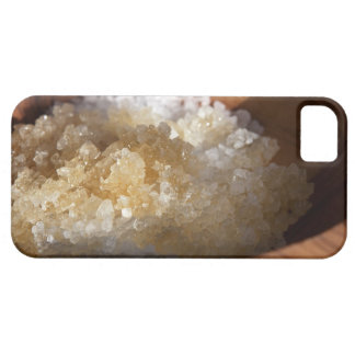 Close up of bowl of sugar iPhone 5 case