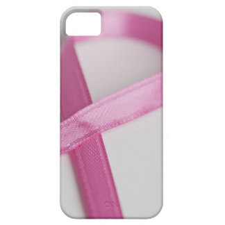 Close up of Breast Cancer Awareness Ribbon Case For The iPhone 5