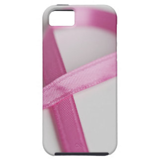 Close up of Breast Cancer Awareness Ribbon iPhone 5 Cover