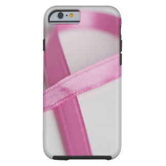 Close up of Breast Cancer Awareness Ribbon Tough iPhone 6 Case