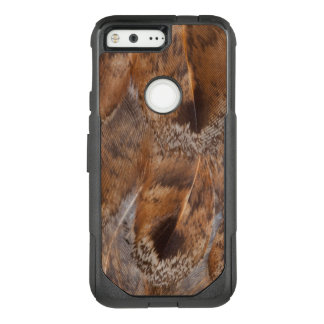 Close Up Of Brown Feathers OtterBox Commuter Google Pixel Case