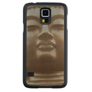 Close-up of Buddha statue Carved Maple Galaxy S5 Case