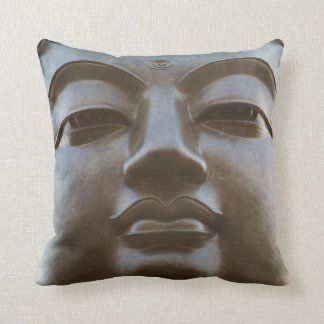 Close-up of Buddha statue Cushion