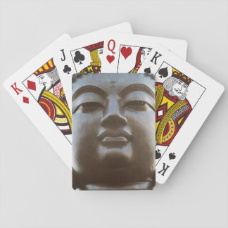 Close-up of Buddha statue Playing Cards