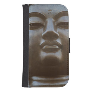 Close-up of Buddha statue Samsung S4 Wallet Case