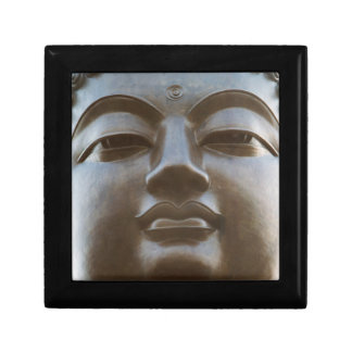 Close-up of Buddha statue Small Square Gift Box