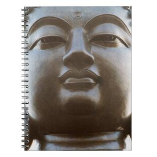 Close-up of Buddha statue Spiral Notebook