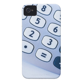 close-up of calculator buttons iPhone 4 cover