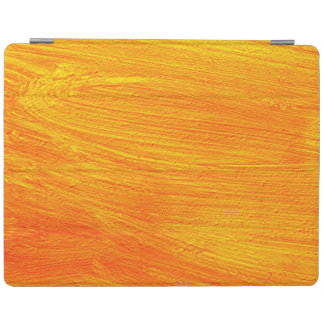 Close-up of canvas painting iPad cover