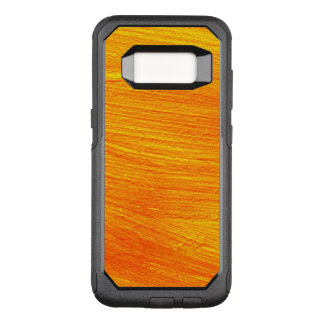 Close-up of canvas painting OtterBox commuter samsung galaxy s8 case