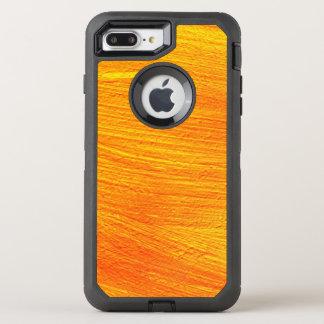 Close-up of canvas painting OtterBox defender iPhone 8 plus/7 plus case