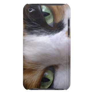 Close-up of cat's eyes iPod Case-Mate case