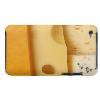 Close-up of cheese slices iPod touch cover