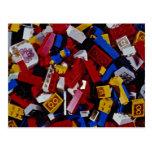 Close-up of children's building blocks