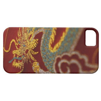 Close up of Chinese silk iPhone 5 Cases