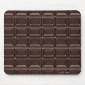 Close-up of chocolate bar mouse mat