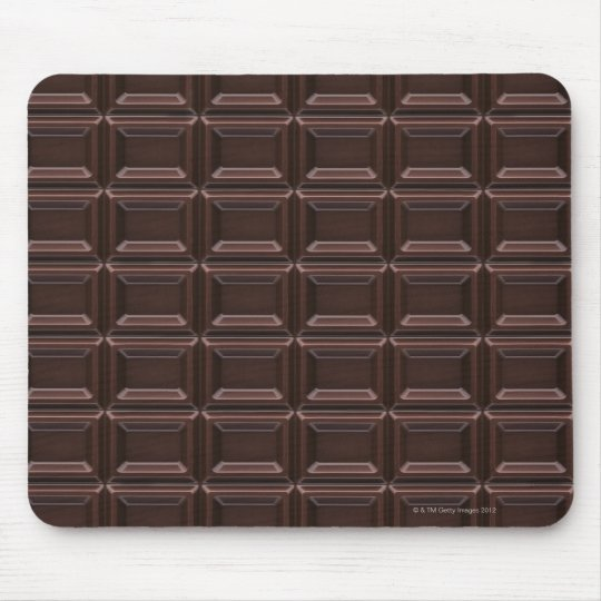 Close-up of chocolate bar mouse mat