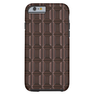 Close-up of chocolate bar tough iPhone 6 case