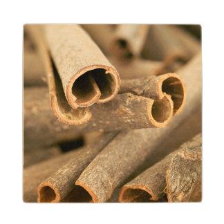 Close-Up Of Cinnamon (Cinnamomum Verum) Wood Coaster